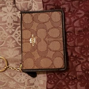 Coach ID holder/keychain